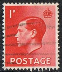 GB SG458 1936 Definitive 1d good/fine used